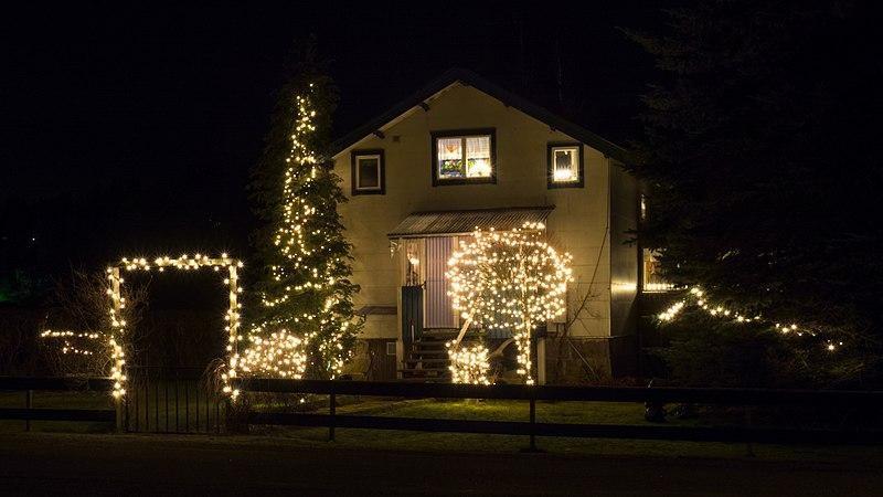 LED řetězy zajistí sváteční atmosféru
